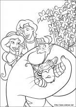 Dibujos De Aladdin Para Colorear En Colorearnet