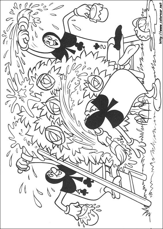 Trippy Alice In Wonderland Coloring Pages - Trippy Shroom Coloring ...
