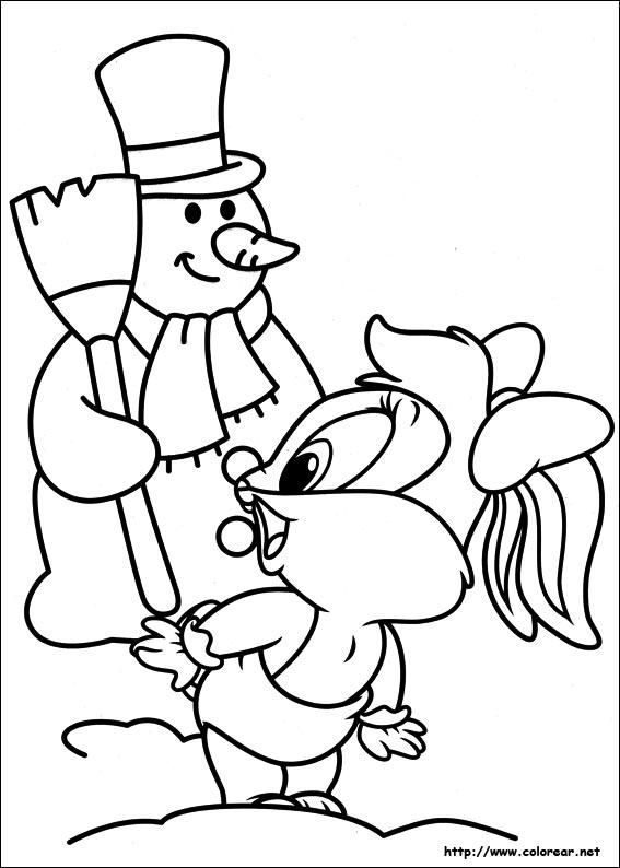 Dibujos para colorear de baby looney tunes for Baby looney toons coloring pages