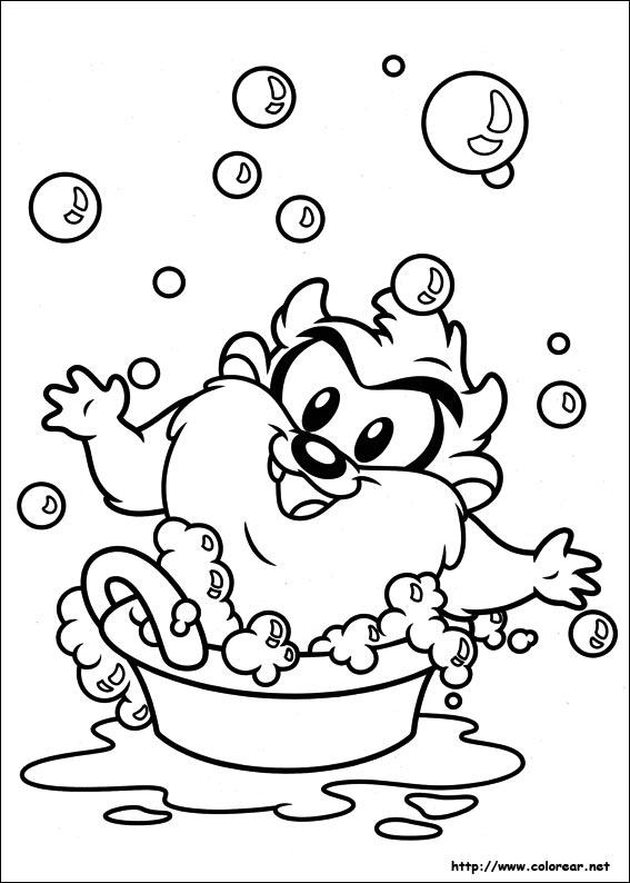 Dibujos para colorear de Baby Looney Tunes