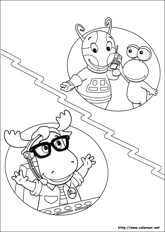 Image Of Backyardigans Para Colorear E Imprimir Dibujos de ...