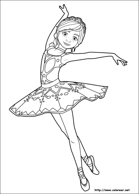 Line Drawing Leap Years And Euclid : Dibujos para colorear de ballerina