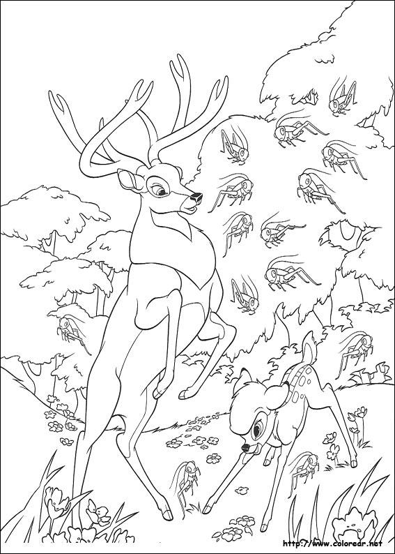 dibujos de bambi 2 volver a la categoría bambi 2