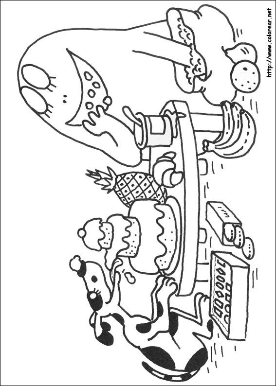 Dibujos para colorear de barbapapa - Barbapapa coloriage ...