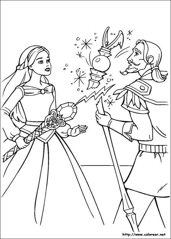 Dibujos De Barbie Y La Magia De Pegaso Volver A La Categoria Barbie Y