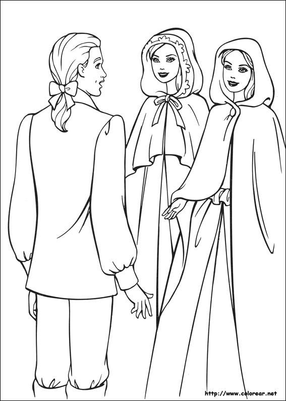 Princesa Sofia para colorear, pintar e imprimir