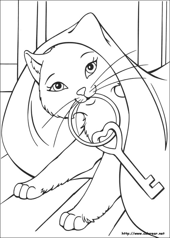 coloring pages barbie tiara - photo#26