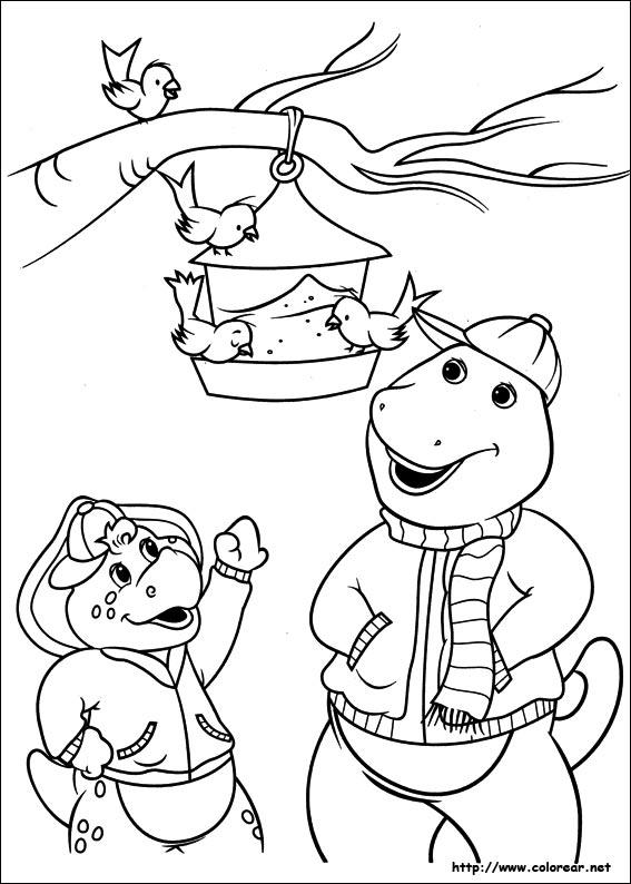 Dibujos de Barney y sus amigos