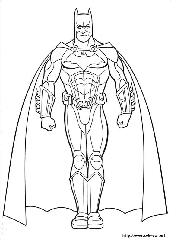 Free Coloring Pages Of Batman Batmobile