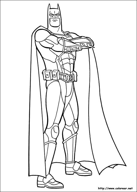 Dibujos de Batman para colorear en Colorear.net