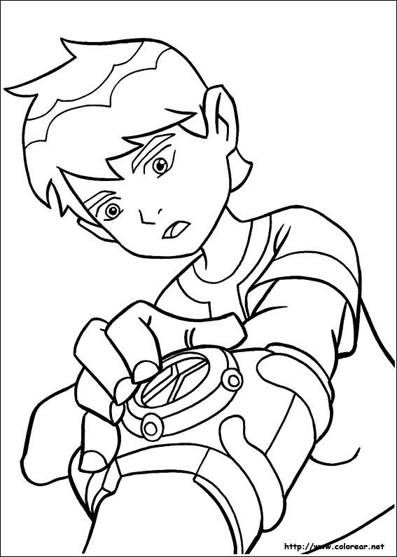 Dibujos de Ben 10 para colorear en Colorear.net