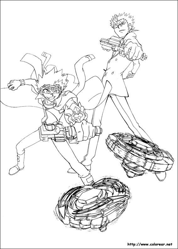 Dibujos Para Colorear De Beyblade