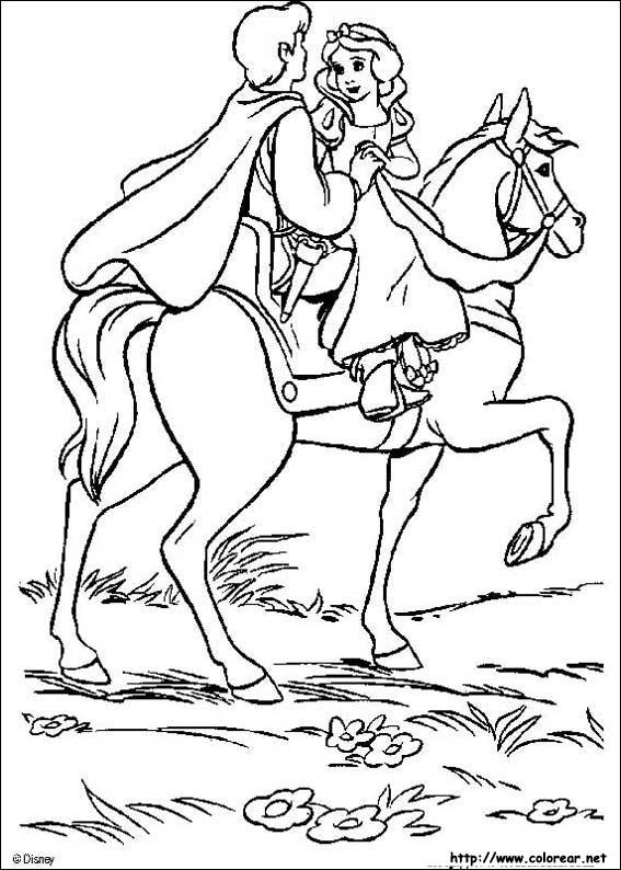 Dibujos de Blancanieves y los siete enanitos