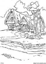 Dibujos De Blancanieves Y Los Siete Enanitos Para Colorear