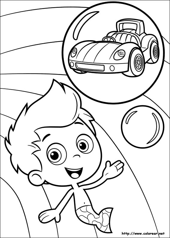 Dibujos de Bubble Guppies para colorear en Colorear.net