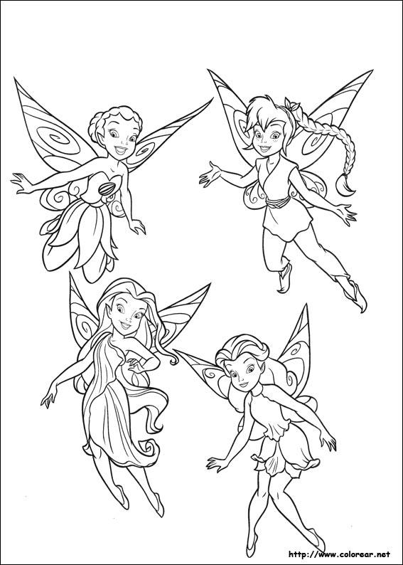 Dibujos para colorear de campanita dibujo de para imprimir thecheapjerseys Images