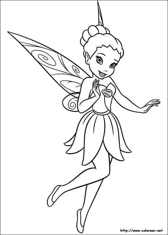 Dibujos de Campanita para colorear en Colorear.net