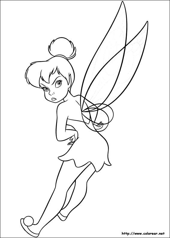 Dibujos para colorear de campanita dibujo de para imprimir altavistaventures Choice Image