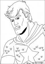 Dibujos de Capitán América para colorear en Colorear.net