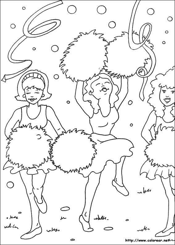 Dibujos para colorear de Carnaval