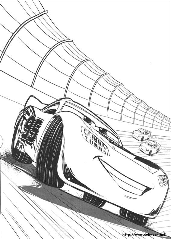 Dibujos de Cars 3 para colorear en Colorear.net
