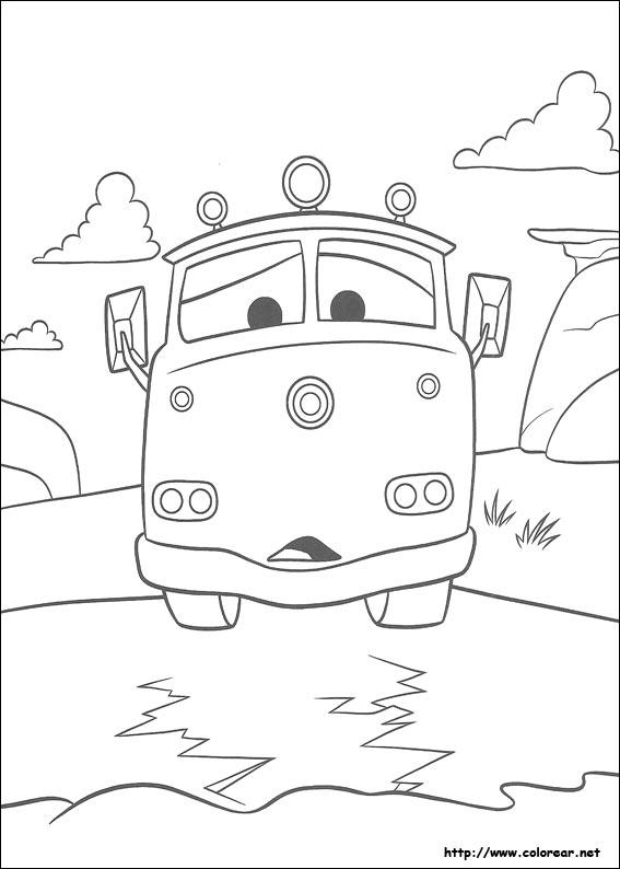 Dibujos de Cars