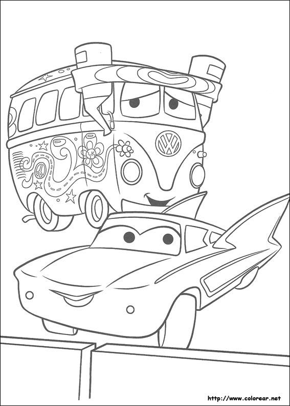 Dibujos de cars volver a la categoría cars