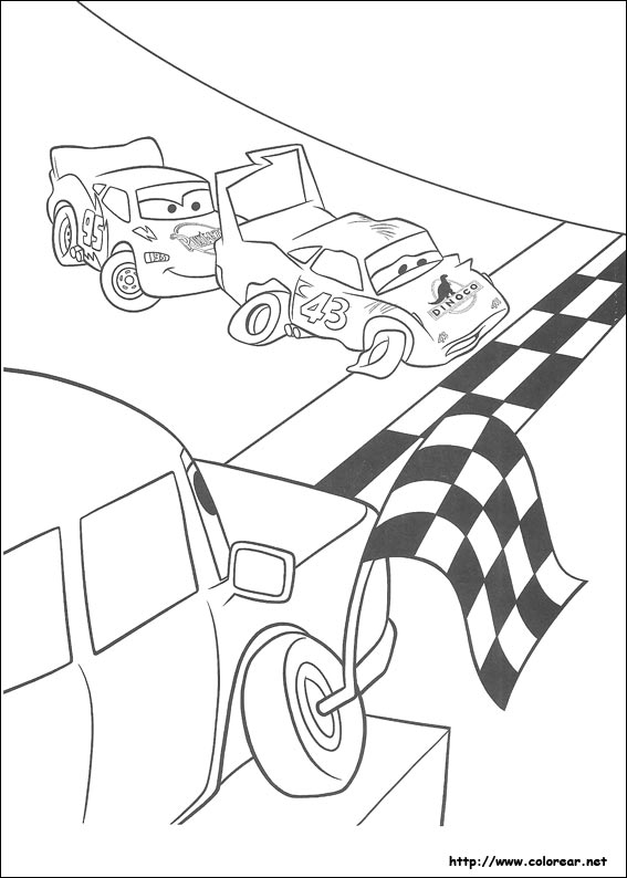 Dibujos de Cars para colorear en Colorear.net