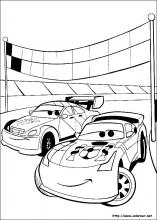 Worksheet. Dibujos de Cars para colorear en Colorearnet