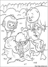 Dibujos de chicken little para colorear en for Chicken little coloring page