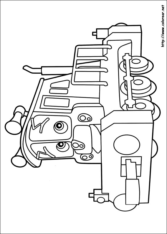 Perfecto Chuggington Para Colorear Ornamento - Dibujos de Animales ...