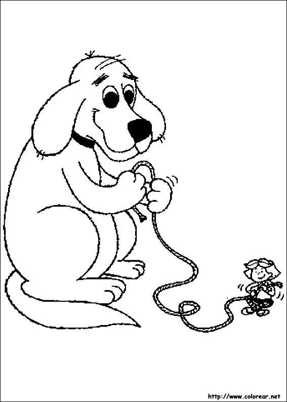 Dibujos de Clifford para colorear en Colorear.net