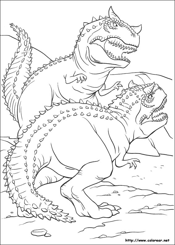 Dibujos para colorear de Dinosaurio