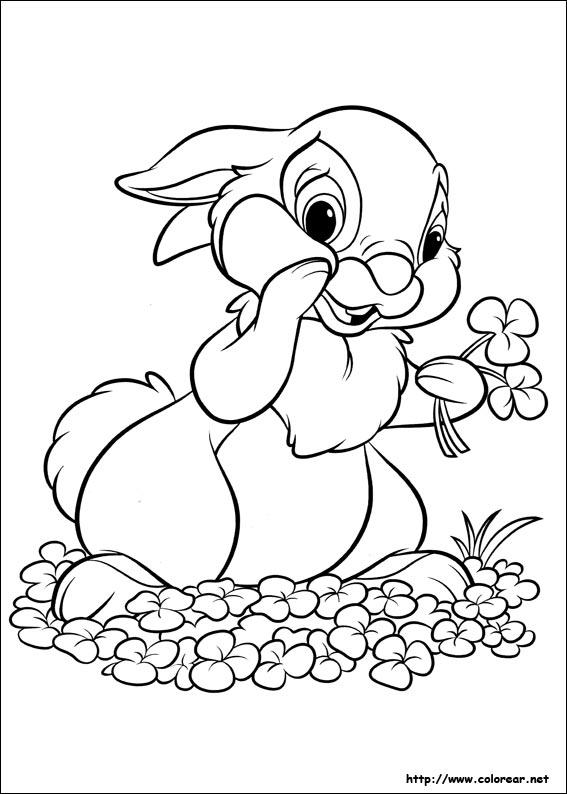 Dibujos para colorear de Disney Bunnies