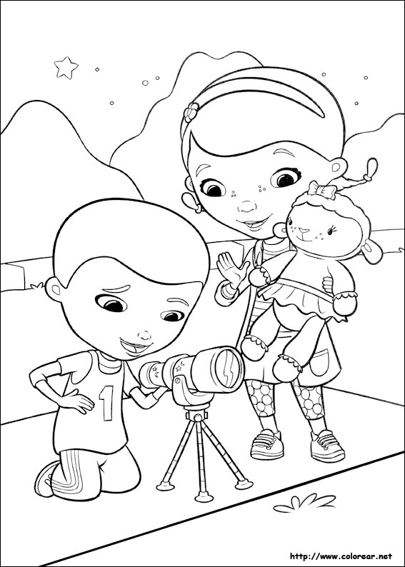 Dibujos para colorear de Doc McStuffins