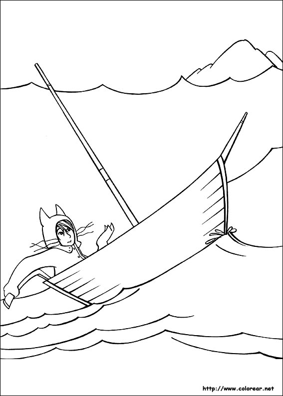 Where The Wild Things Are Characters Coloring Pages
