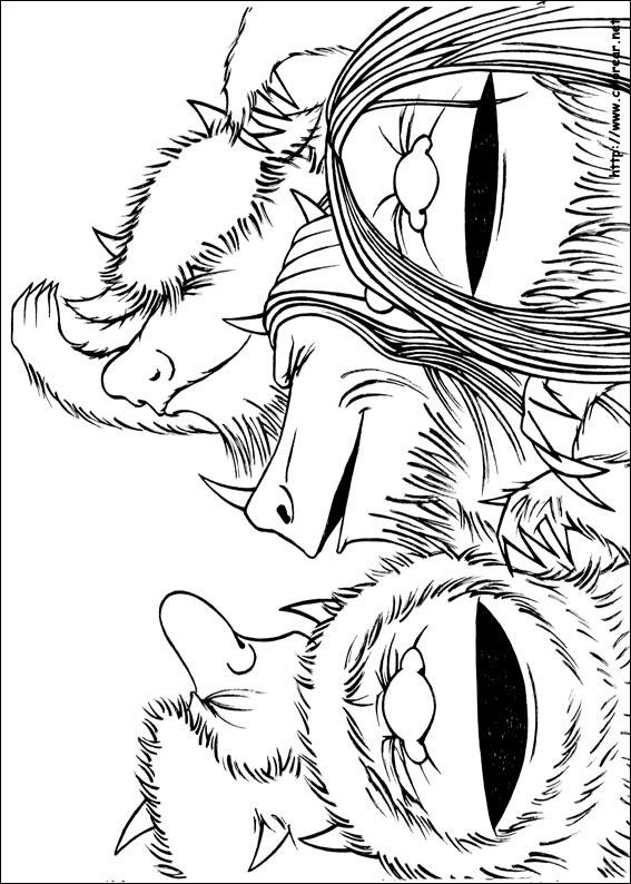 dibujos de donde viven los monstruos volver a la categoría donde ...