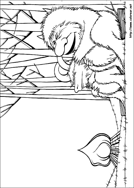 Where The Wild Things Are Free Coloring Pages
