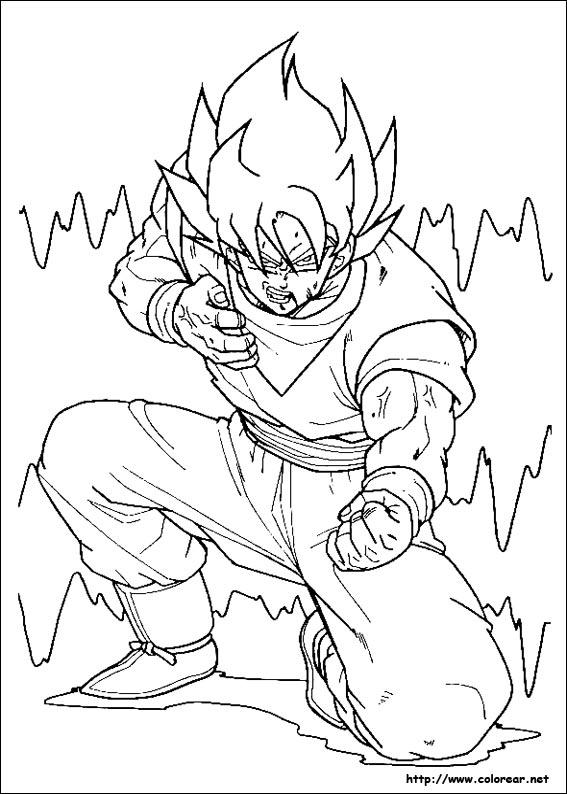 dibujos de dragon ball z para colorear - Taringa!