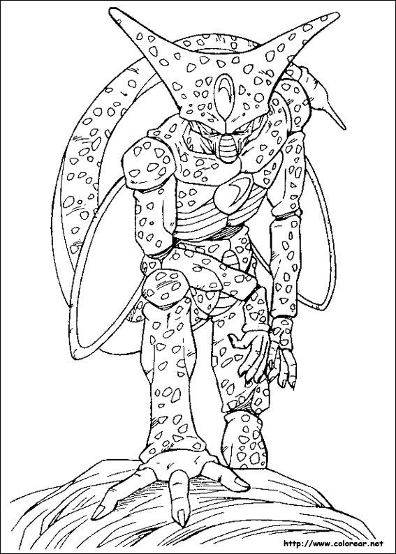 dibujos de dragon ball z para colorear | Taringa!