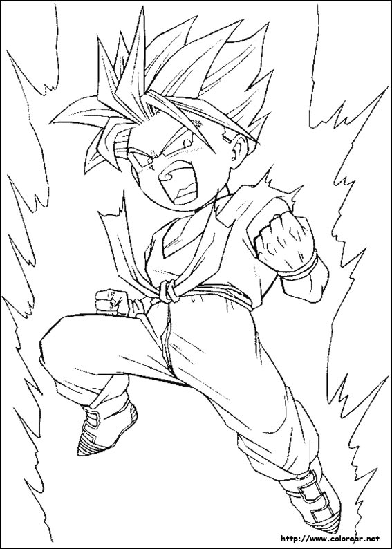 Free coloring pages of pan y trunks