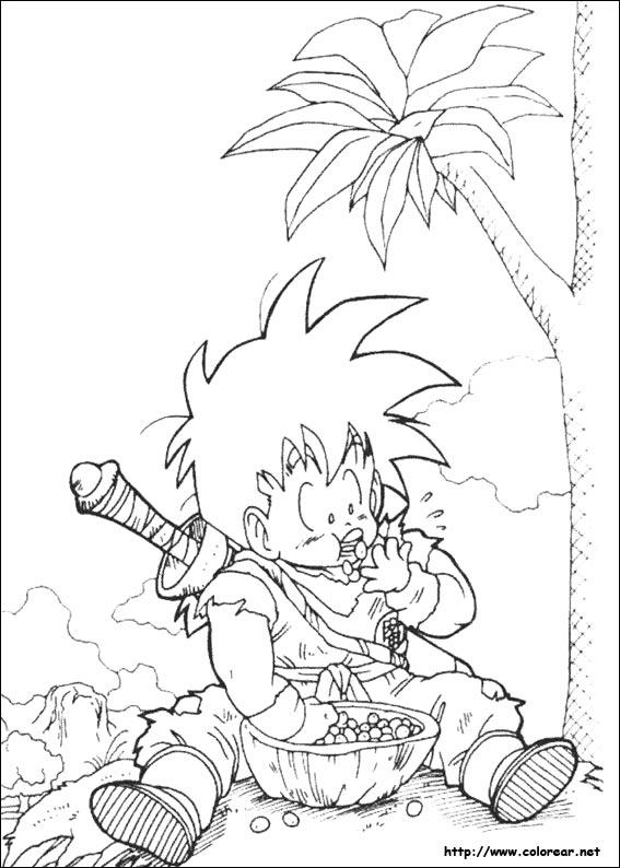 Dibujos de Dragon Ball Z para colorear en Colorear.net