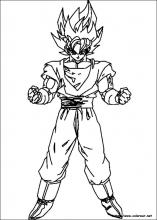 Dibujos De Dragon Ball Z Para Colorear En Colorearnet