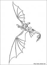 Dibujos de Cómo entrenar a tu Dragón para colorear en ...