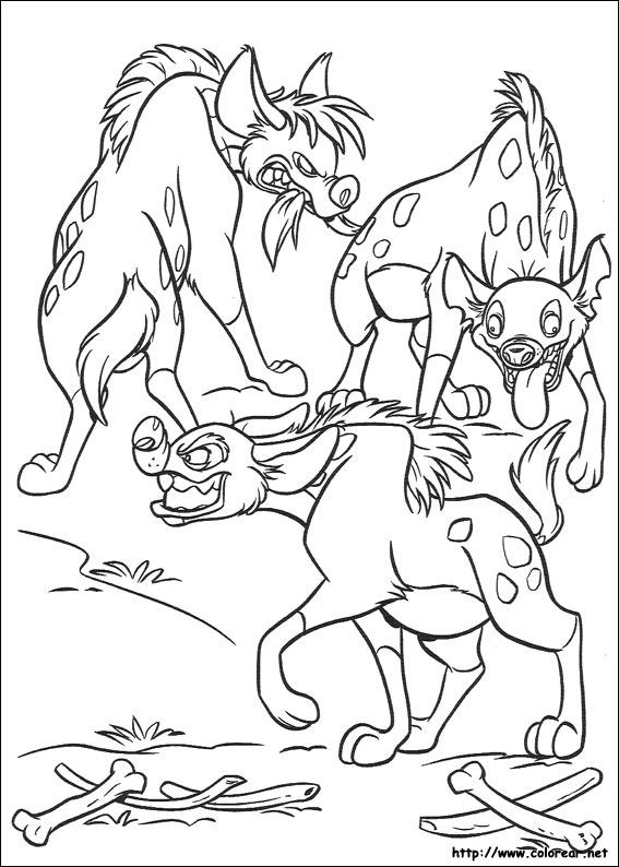 Dibujos de El Rey León para colorear en Colorear.net
