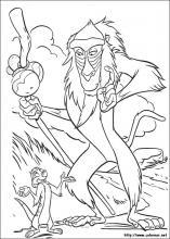 Dibujos De El Rey León Para Colorear En Colorearnet