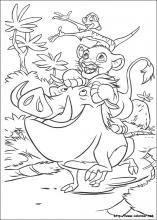 Dibujos De El Rey León Para Colorear En Colorear Net