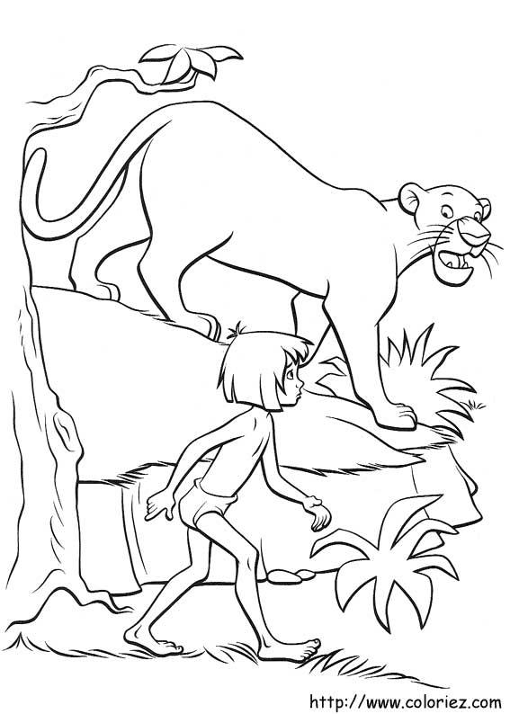 Dibujos de El libro de la Selva para colorear en Colorear.net