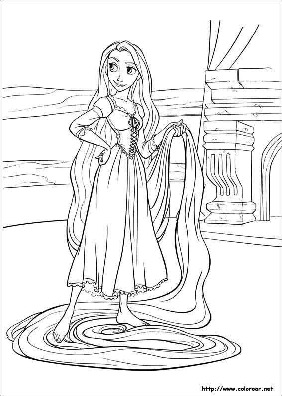 Dibujos de Enredados para colorear en Colorear.net