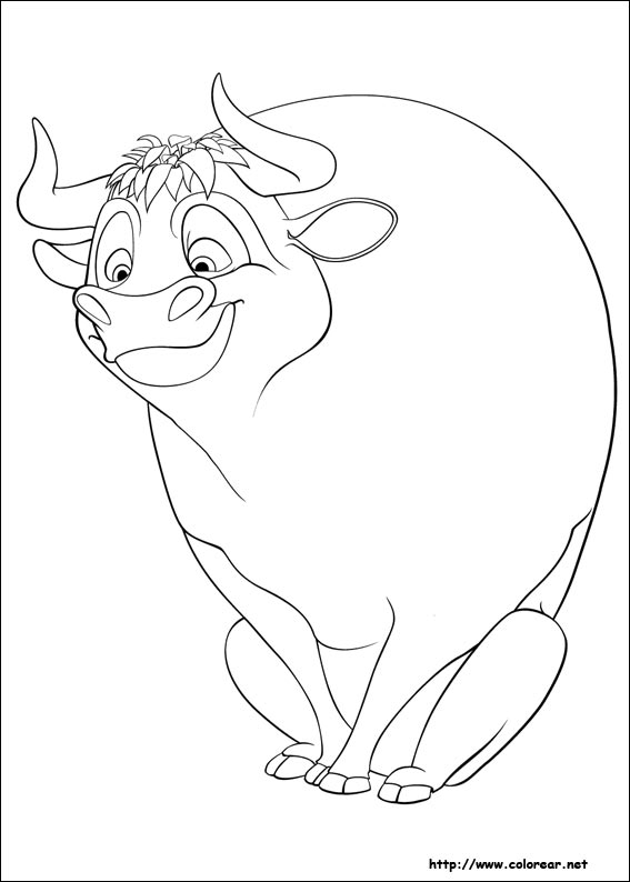 dibujos para colorear ferdinand